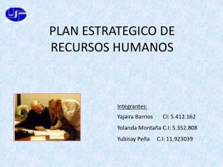 PLAN ESTRATEGICO DE RECURSOS HUMANOS