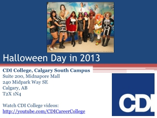 CDI College Calgary South Campus Students, Staff and Faculty