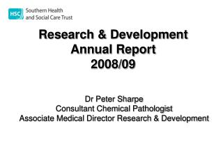Research  Development Annual Report 2008