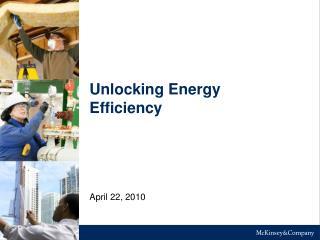 Unlocking Energy Efficiency
