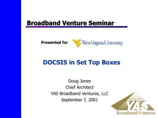 DOCSIS in Set Top Boxes