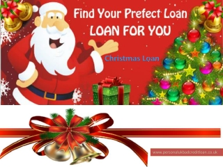 Bad credit Christmas loan | online bad credit Christmas loan