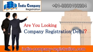 Company Registration in Delhi