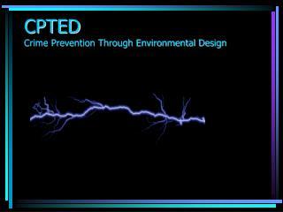 CPTED Crime Prevention Through Environmental Design
