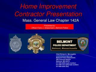 Home Improvement Contractor Presentation