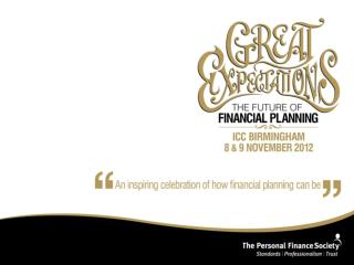 Practicalities of dealing with a deceased person s estate and the role of the financial planner