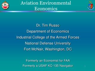 Aviation Environmental Economics