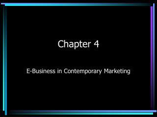 E-Business in Contemporary Marketing