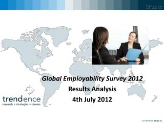Global Employability Survey 2012 Results Analysis 4th July 2012