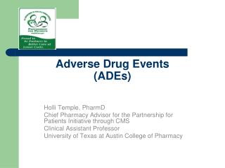 Adverse Drug Events ADEs