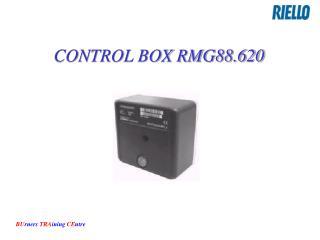 CONTROL BOX RMG88.620