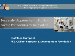 Successful Approaches to Public-Private Partnerships for Innovation