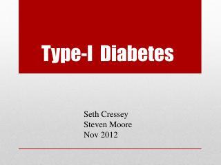 Type-I  Diabetes