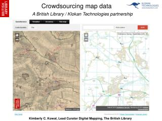 Crowdsourcing map data