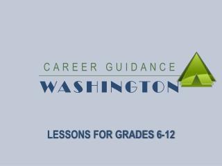 CAREER GUIDANCE  WASHINGTON