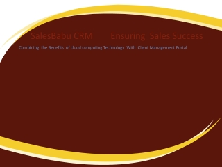 CRM Software for Business Solutions