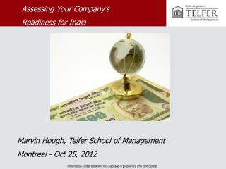 Marvin Hough, Telfer School of Management  Montreal - Oct 25, 2012