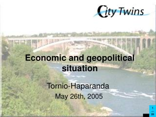 Economic and geopolitical situation