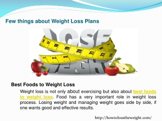 Best diet to weight loss