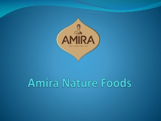 Karan Chanana - Chairman of Amira Foods