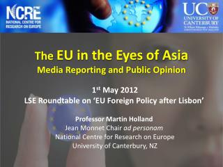 The EU in the Eyes of Asia  Media Reporting and Public Opinion