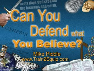 Mike Riddle