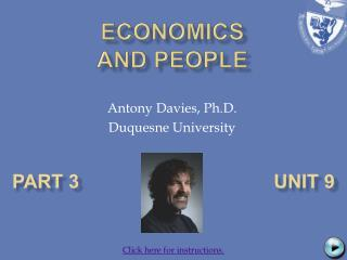 ECONOMICS  AND PEOPLE