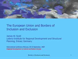 Borders of Inclusion and Exclusion