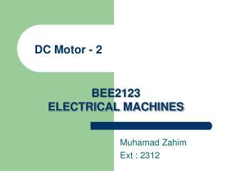 DC Motor - 2