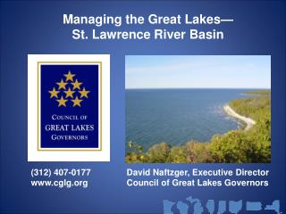 Managing the Great Lakes  St. Lawrence River Basin