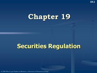 Securities Regulation