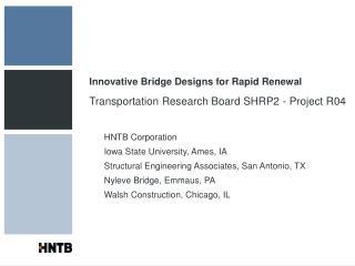 innovative bridge designs for rapid renewal