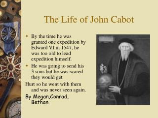 The Life of John Cabot
