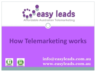 How Telemarketing works