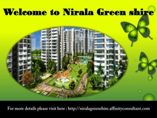 Nirala Greenshire New Apartments