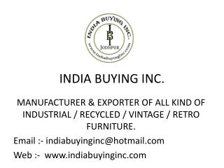 Presentation of India Buying Inc.
