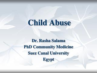 child abuse