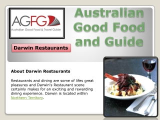 Darwin Restaurants