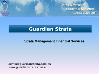 Strata Management Financial Services