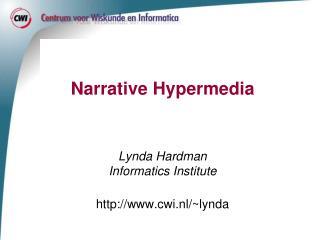 Narrative Hypermedia
