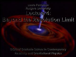 SIGRAV Graduate School in Contemporary  Relativity and Gravitational Physics