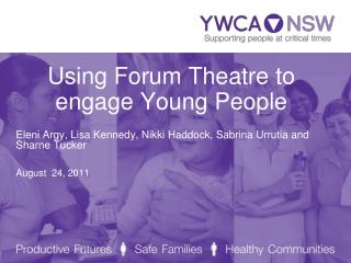 Using Forum Theatre to engage Young People