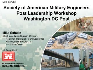 Society of American Military Engineers Post Leadership Workshop Washington DC Post