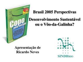 Brasil 2005 Perspectivas Desenvolvimento Sustent vel ou o V o-da-Galinha