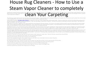carpet cleaners las vegas nv