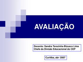 AVALIA  O