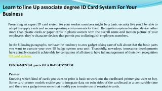 ID Card Printer UK