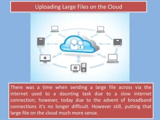 Upload Large Files