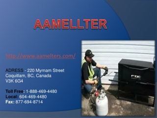 rubberized asphalt melter