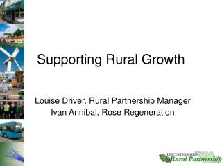 Supporting Rural Growth